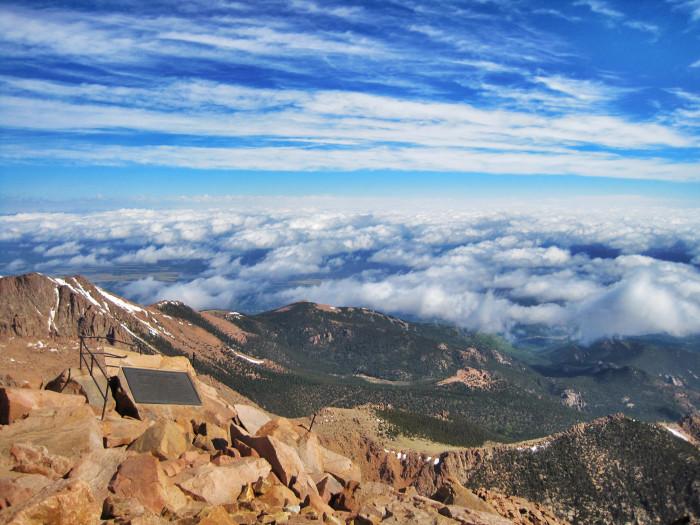 4.) Pikes Peak