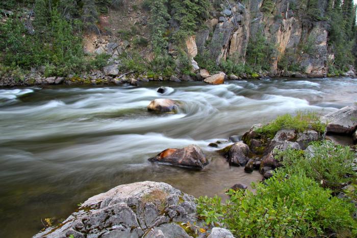 8) Gulkana National Wild and Scenic River Campgrounds