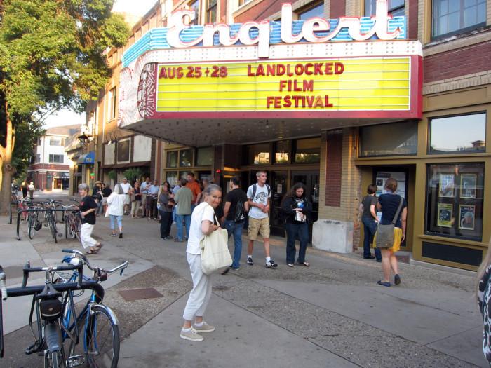 1. Englert Theatre, Iowa City