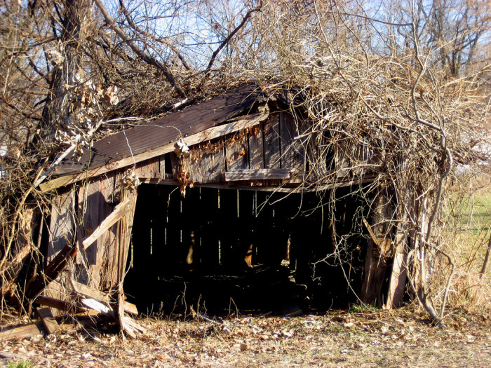 2. Garage in Huntsville.