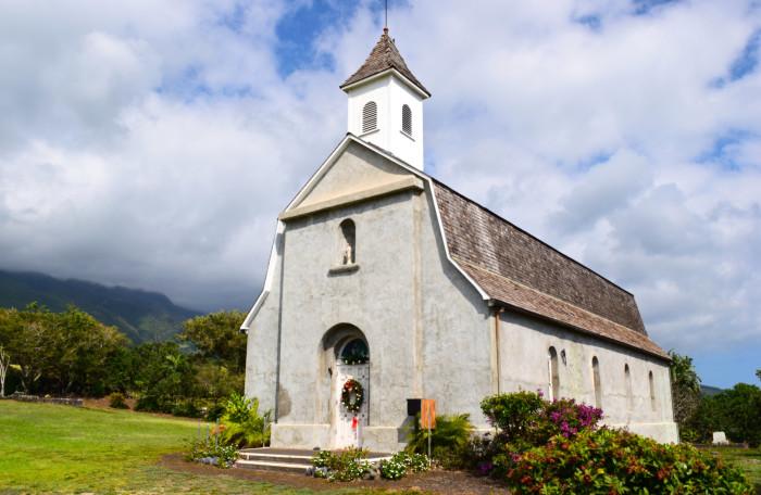 2) St. Joseph's Catholic Church, Maui