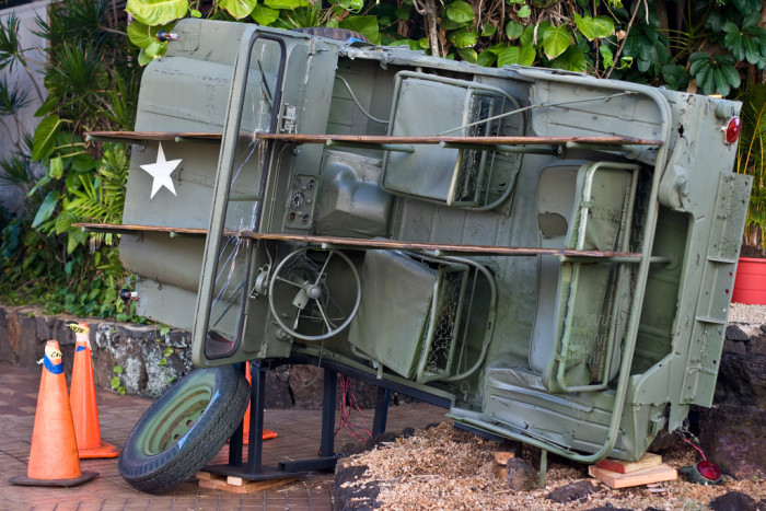2) Tropic Thunder – Filmed in Kauai for thirteen weeks, the movie was credited in 2007 as being the largest film production in the island's history. They still have the jeep from the movie on display.