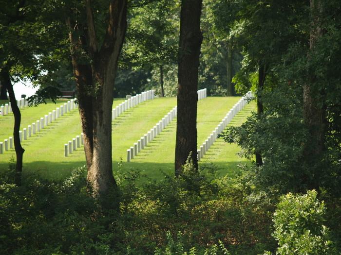 2. Jefferson Barracks and Cemetery, St. Louis