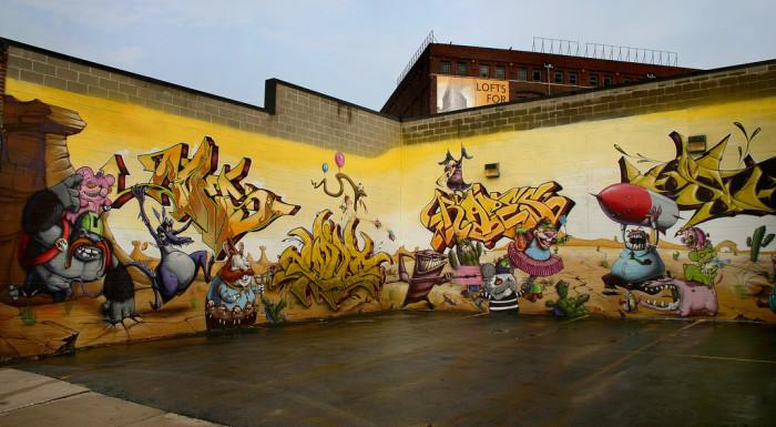 Images Of Beautiful Missouri Graffiti Art