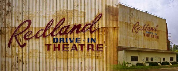 10) Watching movies under a clear night sky at drive-in theaters such as the Redland in Lufkin.