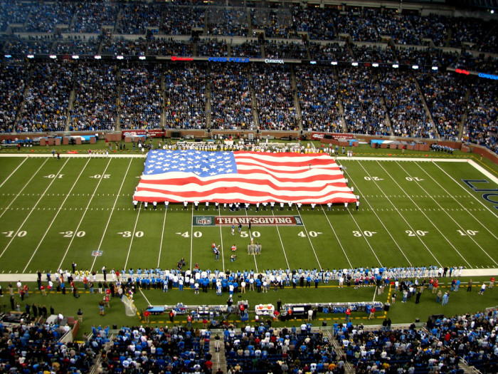 13) Go to a Detroit Lions game on Thanksgiving