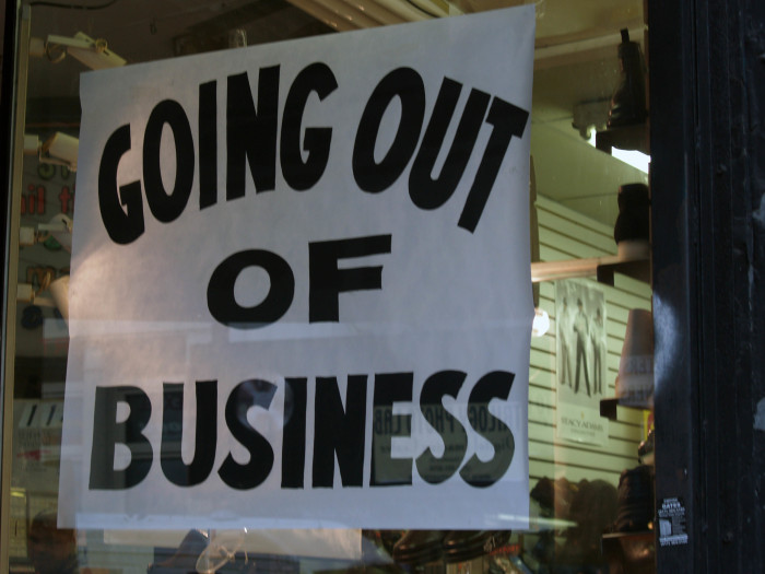 11) If you're going out of business in Athens-Clarke County, you will need a business license to hold a going-out-of-business sign.