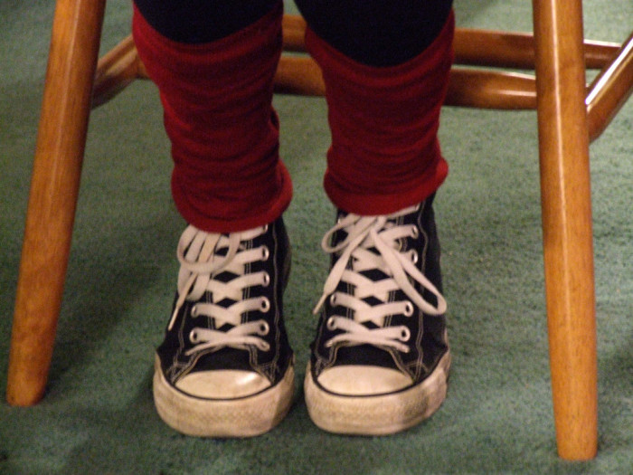 7. Leg warmers...I would still wear them today IF I could find any.