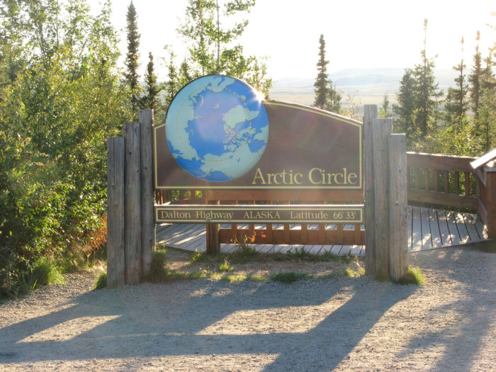 9) Arctic Circle and the North Pole