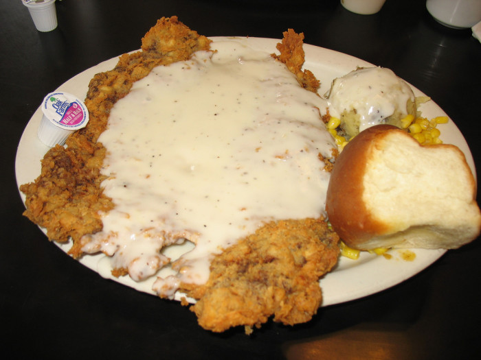 8) Chicken fried steak, another one of Texans' favorite food groups.