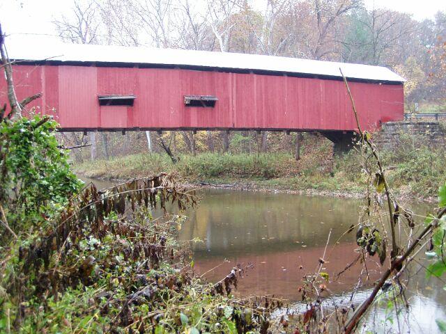2. Baker's Camp Covered Bridge