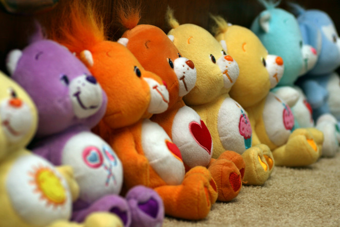 and Care Bears.