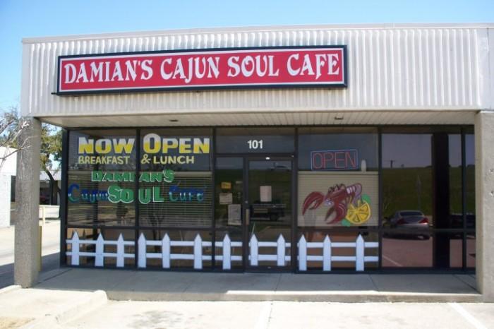 11) Damian's Cajun Soul Cafe (Arlington)