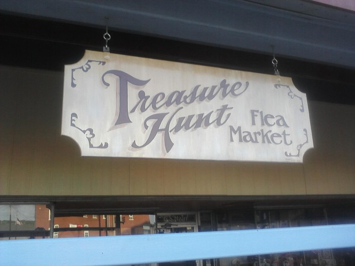 9.) Treasure Hunt Flea Market (Fort Scott)
