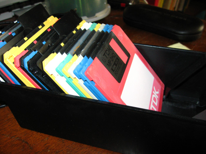 8. Remember? Floppy discs and magnets do not go together!