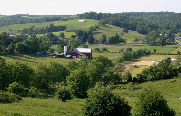 8) Ohio Amish Country hills