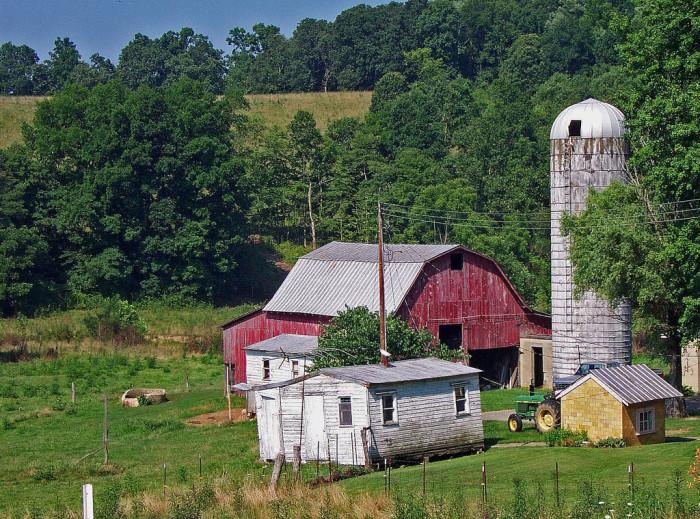 2) Rapp Hollow Farm (Pike County)