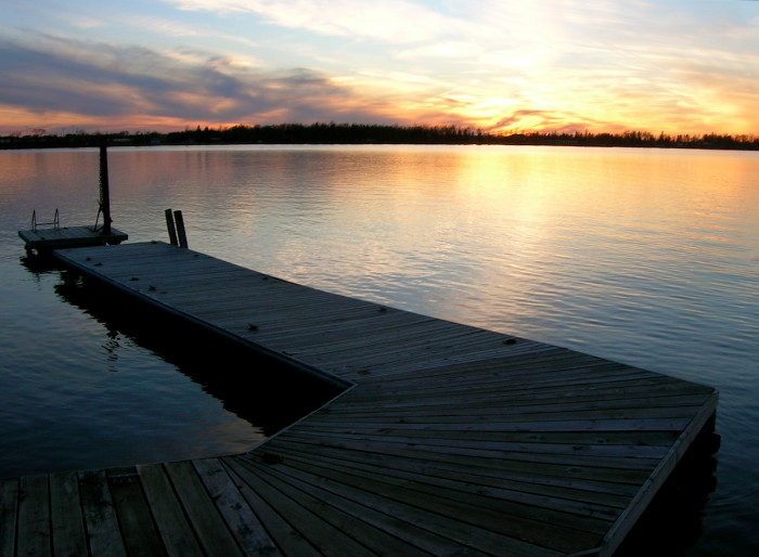 13. Rainy Lake on the Canadian border is worth the long trip north for its crystal clear waters and stunning sunsets.