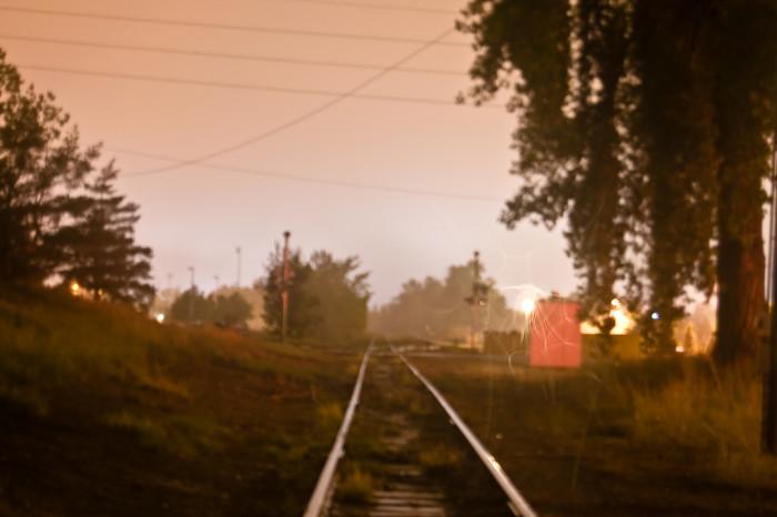 7.) Eerie rails