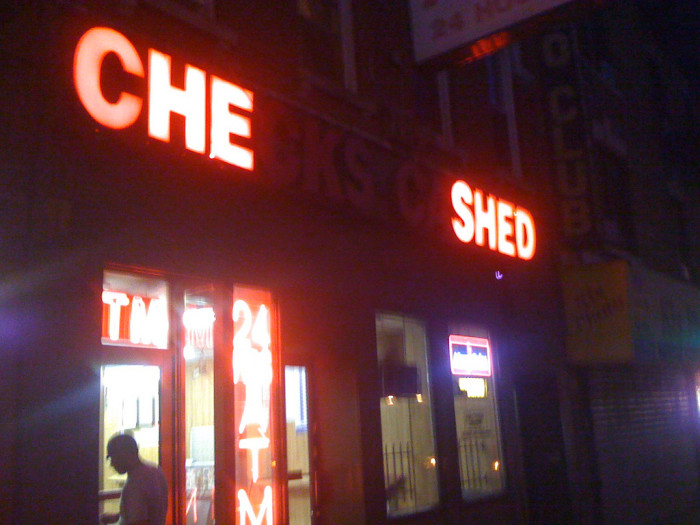 "7.) ""That's what che shed!"""