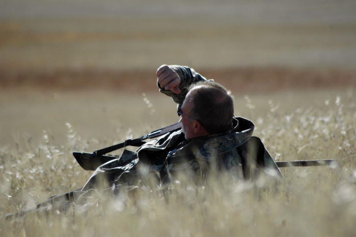 8) Go hunting