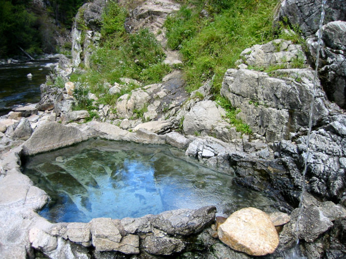 13. Enjoy a long, relaxing soak at an Idaho hot spring.