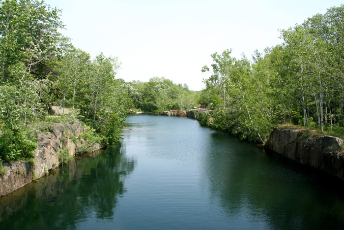 3. St. Cloud is often overlooked as just a college town. However, you can't skip the amazing scenery like Quarry Park pictured below.