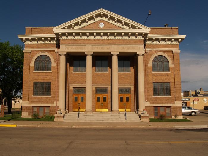 9. Methodist Episcopal Church in Jamestown, North Dakota.