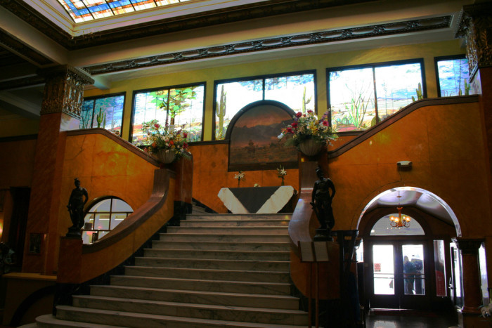 3. Pancho Villa rode his horse up the steps of the Gadsden Hotel in Douglas