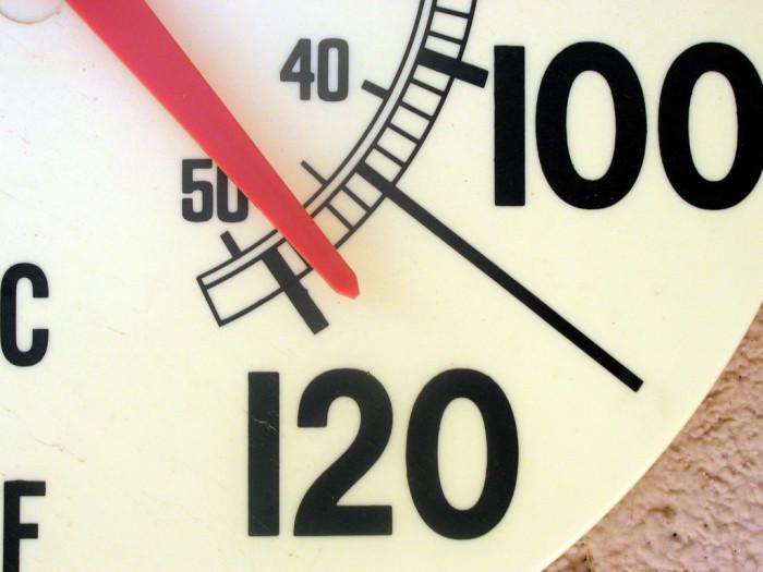 1. The heat is terrible.