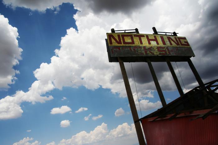 8. Nothing, Arizona