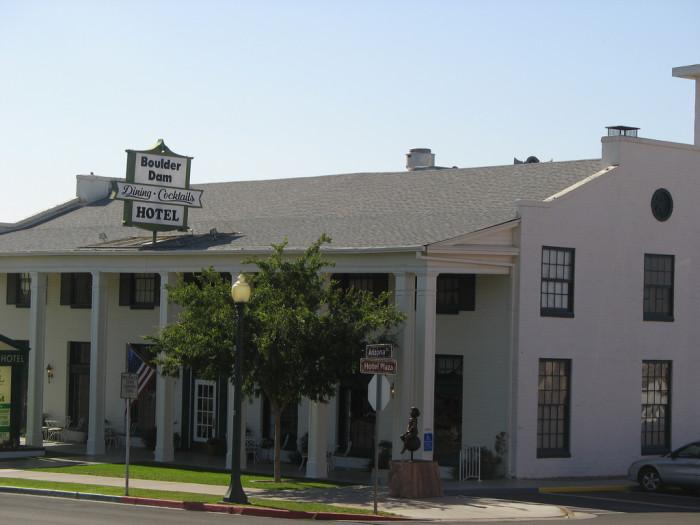 Boulder Dam Hotel City Nv