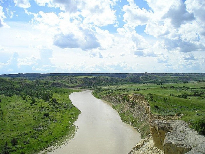 8. I could sit and listen to the Missouri River pass through Theodore Roosevelt National Park for several hours straight. The sound of the water is SO RELAXING!