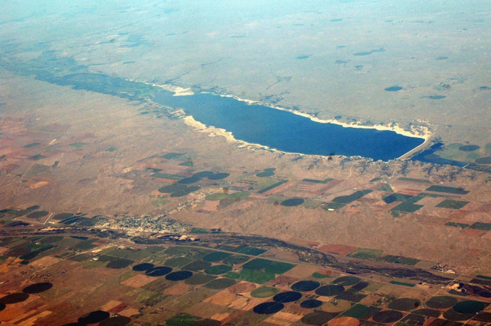 Lake McConaughy as the Birds See It