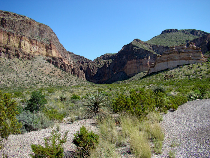 5) Burro Mesa Archaeological District at Big Bend National Park
