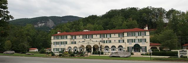 5. The 1927 Lake Lure Inn and Spa
