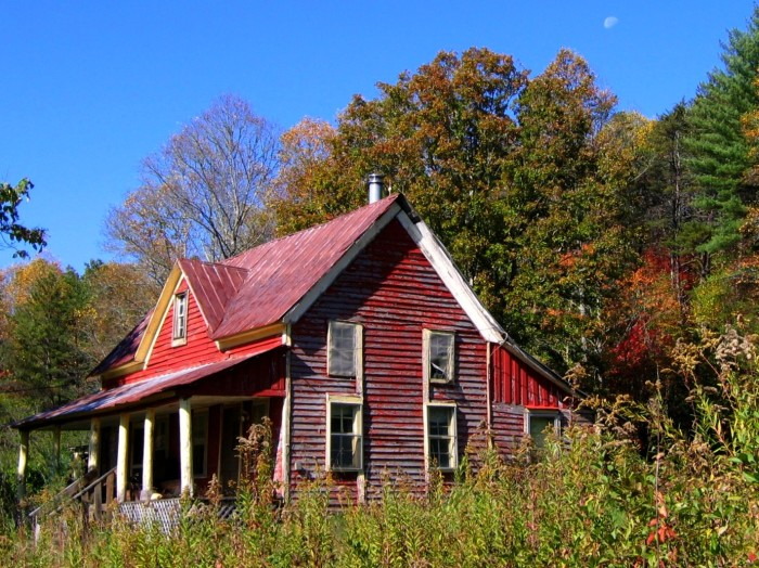 1) Old Farmhouse in Union County, GA