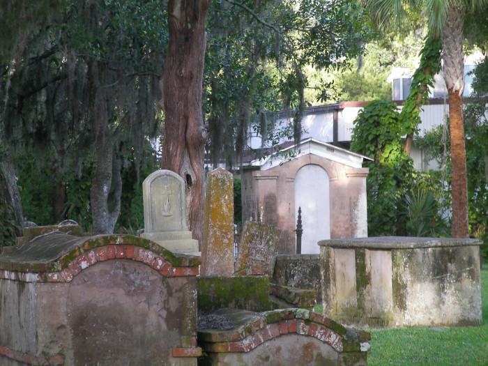 8. Tolomato Cemetery