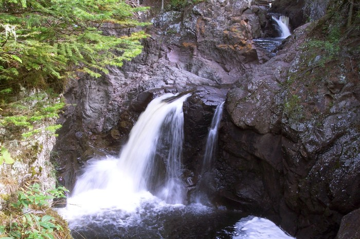 3. Nothing fits the bill better  than the Hidden Falls themselves on the Cascade River in northern Minnesota.