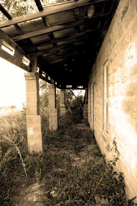 3. Porch on an abandoned farm in central Missouri.