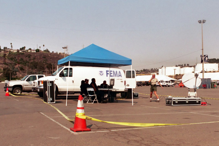 3) Is there a FEMA concentration camp on Oahu?