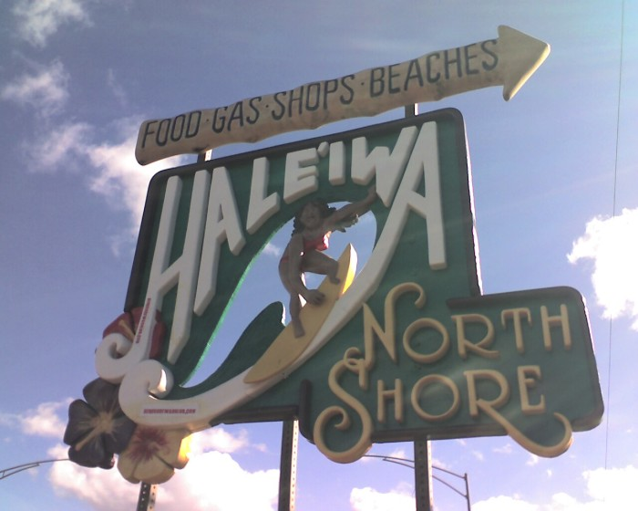 3) Haleiwa – If you weren't aware, a 'W' in the middle of a word is pronounced as a 'V'.