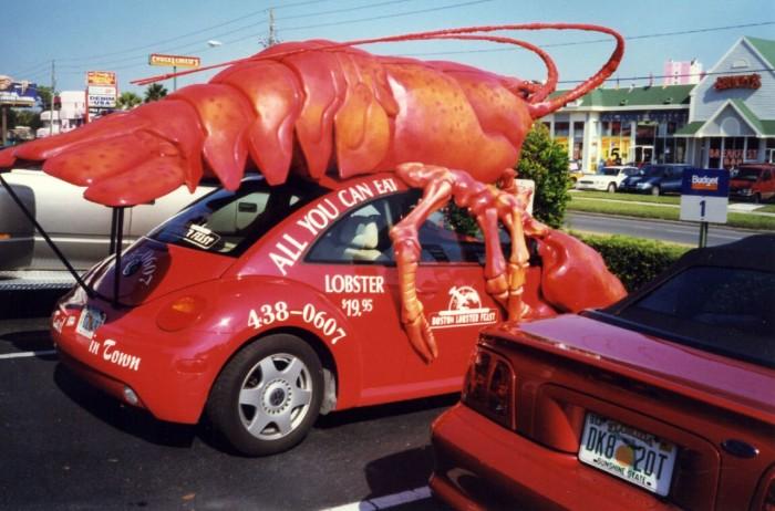 2. Jurassic Lobster