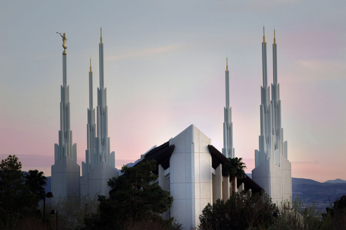 5. Las Vegas Nevada Temple. This temple is the 43rd operating temple of The Church of Jesus Christ of Latter-day Saints.
