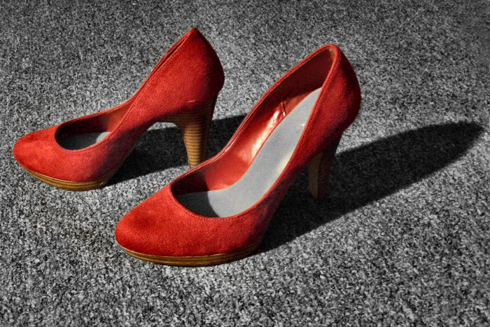 7. We had a man run and drive away from the police wearing absolutely nothing but a pair of heels. That's pretty hard to do.