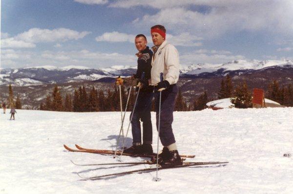 2.) Skiing in Winter Park