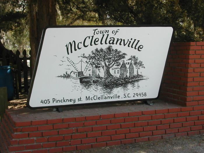 7. McClellanville, SC
