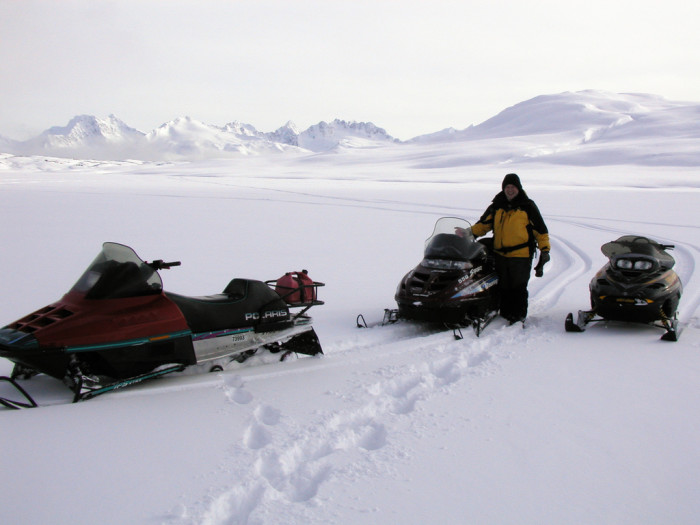 8) Snowmachine