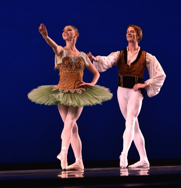 3. For the first time, the USA International Ballet Competition was held in Jackson.