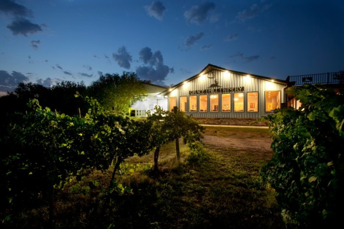 8.) Grace Hill Winery (Whitewater)